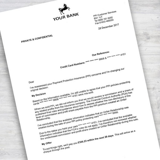 Bank Letter